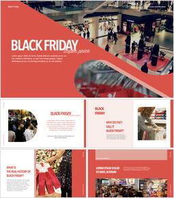 Venerdì nero Design del modello_40 slides