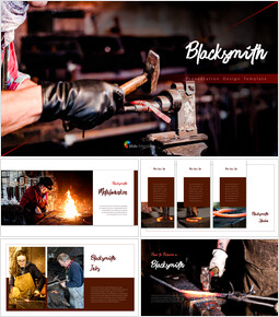 Blacksmith PowerPoint Presentations Samples_40 slides
