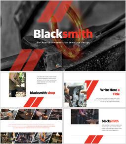 Blacksmith PPT Keynote_40 slides