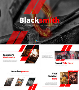 Blacksmith PPT PowerPoint_40 slides