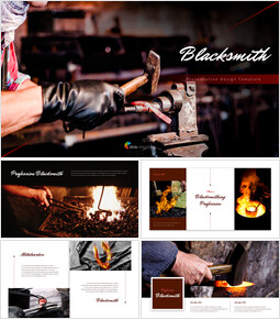 Blacksmith Simple Google Slides Templates_00