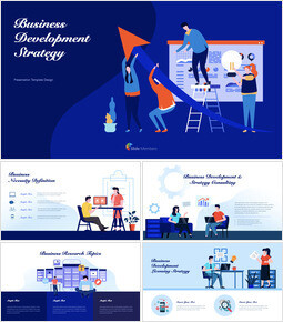 Business Development Strategy Keynote Templates for Creatives_00