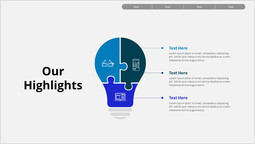 Business Our Highlights PowerPoint Layout_00