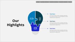 ビジネス私たちのハイライト パワーポイントのレイアウト_1 slides