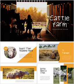 Cattle Farm Simple Google Presentation_00