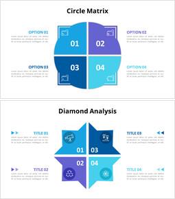 Circle Matrix Analysis Diagram_10 slides