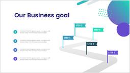 클라우드 서비스 사업 목표 PPT 슬라이드 덱_00