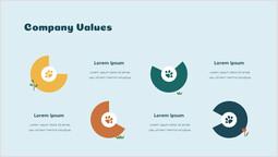 회사 가치 차트 Sldie 파워포인트 디자인_00