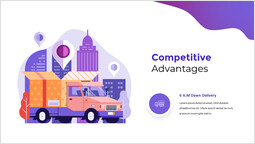 경쟁 우위 슬라이드 덱 템플릿_2 slides