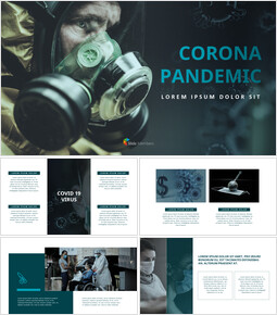 Corona Pandemic Theme Presentation Templates_40 slides