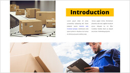 Courier service Introduction Single Template_00