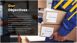 Courier service Our Objectives Presentation Slides_00