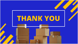 Courier service Thank you PPT Layout_00