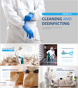 COVID-19 Cleaning and Disinfecting PowerPoint Presentations_40 slides