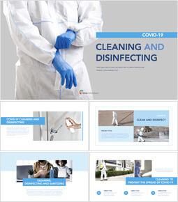 COVID-19 청소 및 소독 템플릿 디자인_00