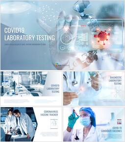 COVID19 실험실 테스트 Google 슬라이드 테마 & 템플릿_00