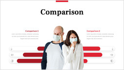 Covid virus Comparison PPT Deck_1 slides