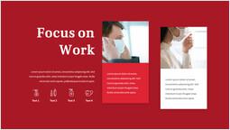 Covid Virus Focus sul lavoro diapositiva di presentazione_1 slides