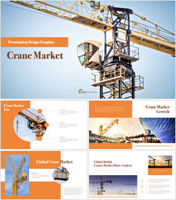 Crane Market presentation slide design_40 slides