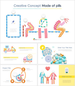 Creative Concept Made of Pills Business Presentations_40 slides