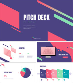 Creative Design Pitch Deck powerpoint animation template powerpoint animation_00