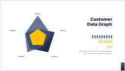 Customer Data Graph Slide Design PowerPoint Slide Deck Cover_00