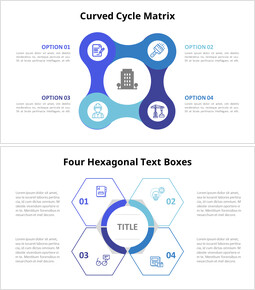 Cycle Matrix Infographic Diagram_14 slides