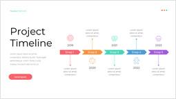 디저트 프로젝트 타임 라인 피피티 디자인_00
