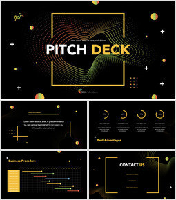 Electronic Pattern Pitch Deck Design Creative Keynote_00