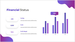Financial Status Chart Template_00