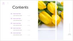 Agenda dei fiori Diapositiva pagina_1 slides