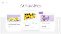 우리의 서비스 꽃 피치덱 디자인_00