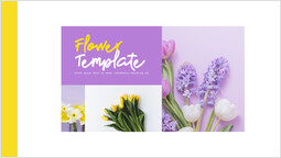 Flower PPT Template Cover PPT Layout_00
