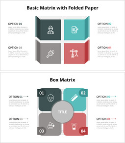 Four Box Matrix Diagram_8 slides