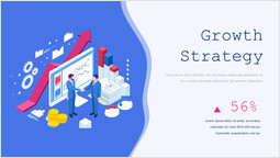 Growth Strategy with Chart Slide Layout_00