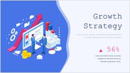 차트를 통한 성장 전략 슬라이드 레이아웃_00