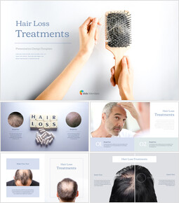 Hair Loss Treatments Business plan PPT Templates_00