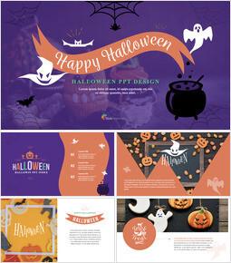 Halloween Simple Keynote Template_00
