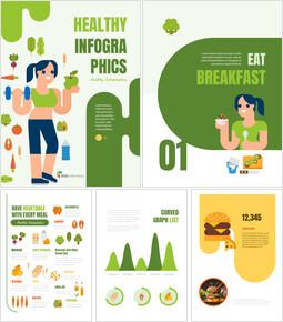 건강한 인포그래픽 세로형 PPT 디자인 템플릿_00