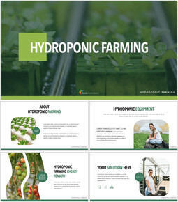 Hydroponic Gardening template keynote_40 slides
