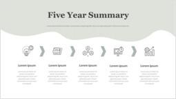 Insurance Five Year Summary Deck Layout_2 slides