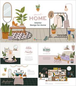 Interior Design for Home Google Slides Presentation_00
