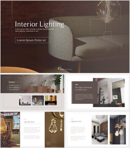 Interior Lighting Themes for PowerPoint_00