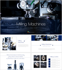 Milling Machines Outline PPT Presentation_40 slides
