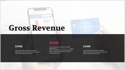モバイル決済総収入 テンプレートのデザイン_1 slides
