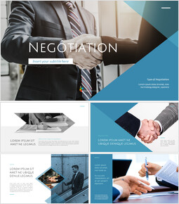 Negotiation presentation slide design_00