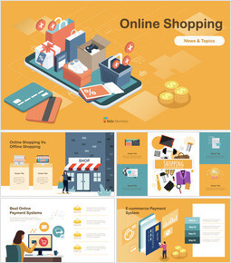 Online Shopping template keynote_00