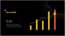 私たちの利益 パワーポイントデザイン_2 slides