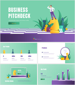 Pitch Deck Template for Investment powerpoint template_00