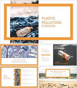 플라스틱 오염이 증가하고 있습니다 윈도우용 애플 키노트_00